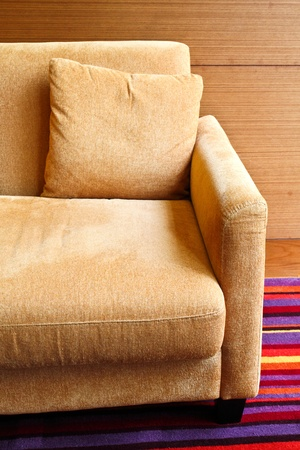 Detail of sofa in the living room Stock Photo - 9555154