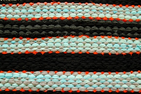 Pattern fabric for unique carpet style photo