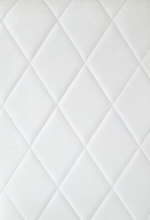 coussins: arri�re-plan de capitonnage blanc Banque d'images