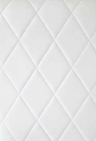 white leather texture: background of white upholstery