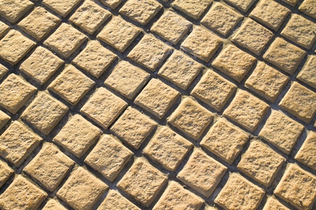 brick floor pavement photo