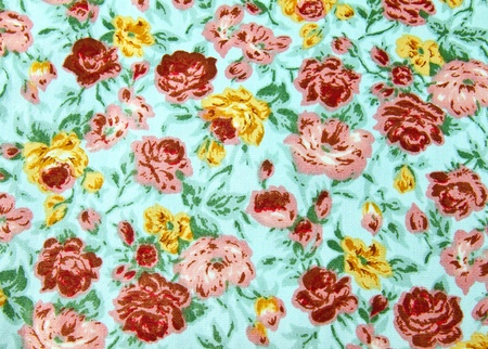 Flower wallpaper textile for background photo