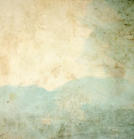 抽象的なグランジ水彩ペイントの背景 写真素材