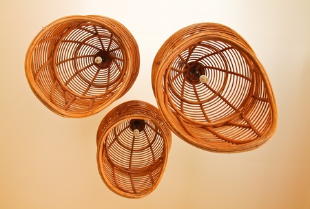 rattan: Modern design ceiling lamps in outdoor