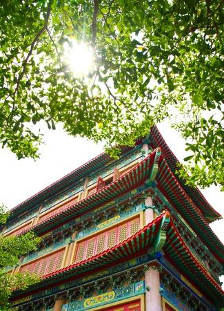 lang: chinese temple in Thailand  Wat Lang Nui Yee 2
