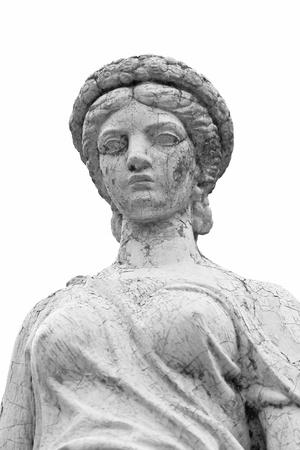 Roman Statue in black and white  photo