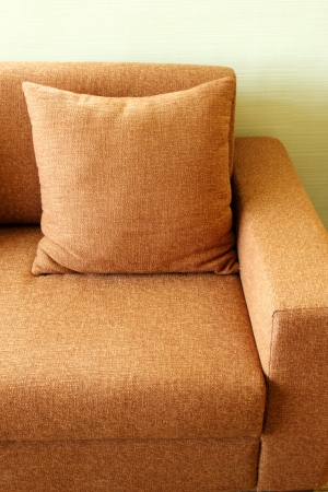 coziness: Close up of sofa in the living room