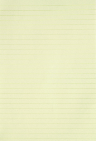 ruled paper: Blank yellow lined paper background or textured