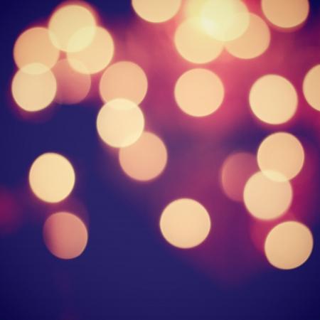 bokeh background: Bokeh light vintage