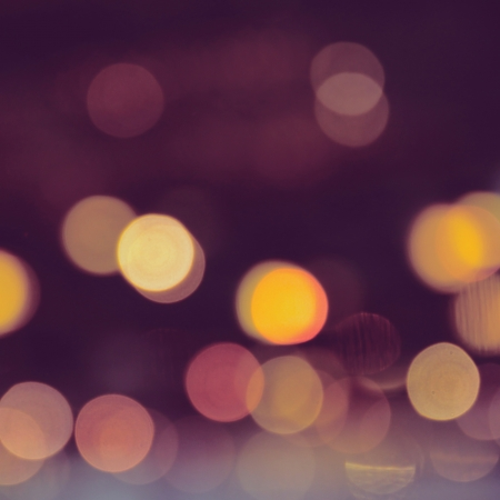 instagram: Abstract of bokeh background with filter effect