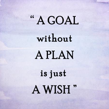 Inspirational citazione motivazione su sfondo acquerello