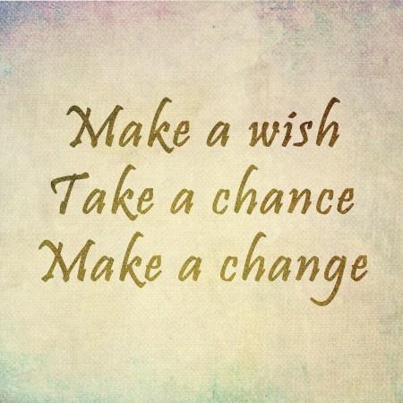 Inspirerend motiverende citaat op oude kleur papier achtergrond