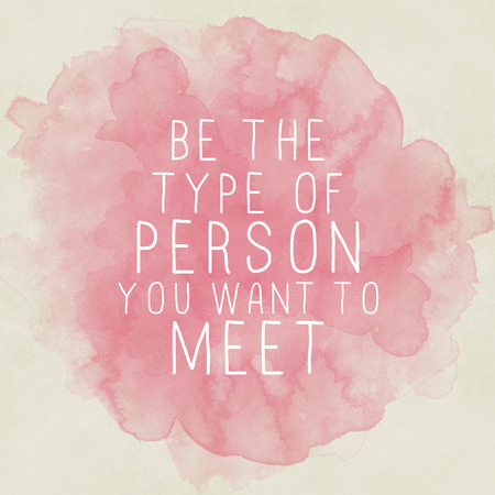 Inspirující motivační citát na starý papír akvarel pozadí Reklamní fotografie