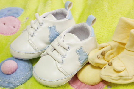 Beautiful baby shoes (Baby shoes)