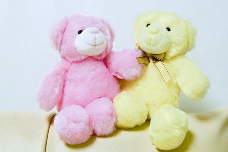 Soft and pretty teddy bear Фото со стока