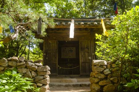 The seonangdang, the altar,