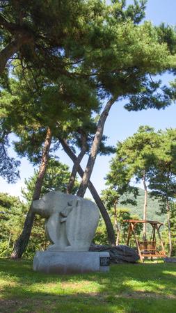 Gongju, Goma Naru a grove of pines