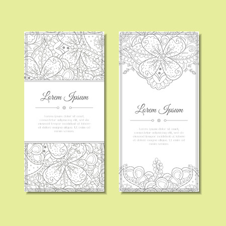 celebration party: Cute greeting card with floral  ornament. Abstract ornate background. Good for card, wedding invitation, celebration, party flyer, banner. Flowers with leaves and paisley. Vector illustration