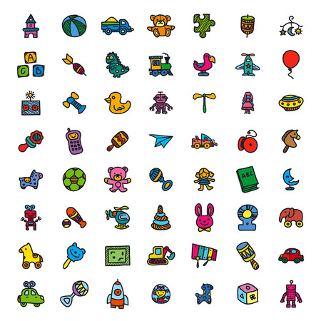 baby toy: Baby Toy Icons