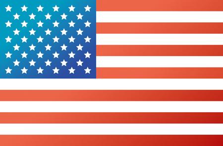 national landmark: American Flag, Vector, Flag, USA, Country Illustration