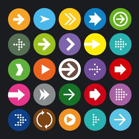 next icon: Arrow Icons Set