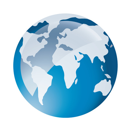 Global Icon Иллюстрация