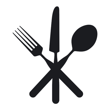 Knife, Fork and Spoon Vectores