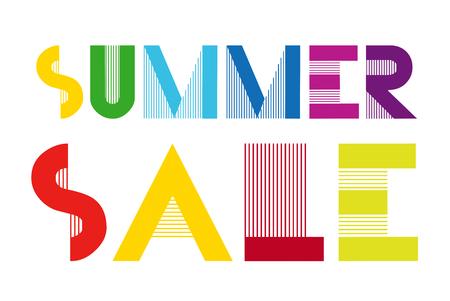 Summer Sale Info Sign Vectores
