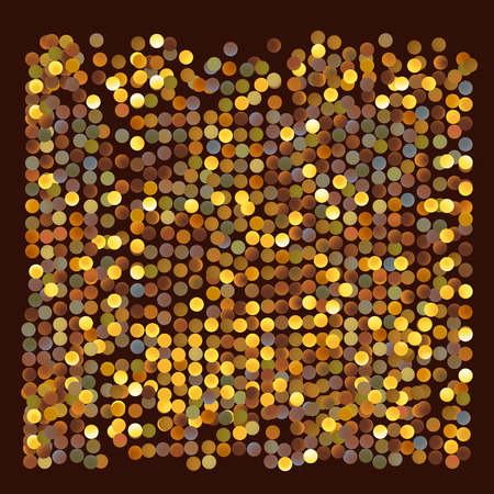 Abstract Gold Circles Background Vectores
