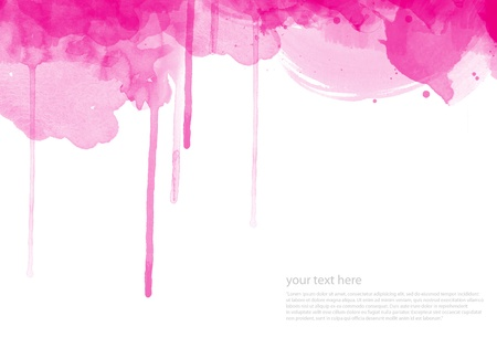 Abstract watercolor painted background for your design Stock Photo - 10226578