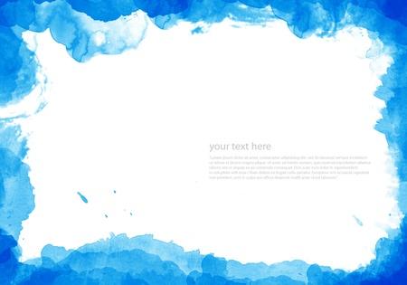 color image creativity: Acuarela abstracta pintado el Fondo para el dise�o