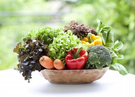 lechuga: verduras en cesta