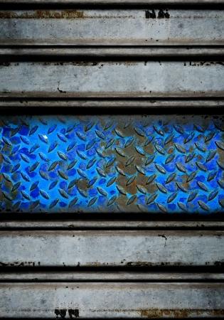 treadplate: metal texture  Stock Photo