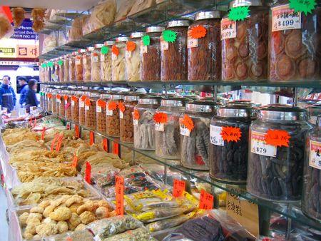 Chinatown marktgoederen