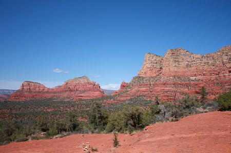Beautiful Sedona, Arizona landscape photo