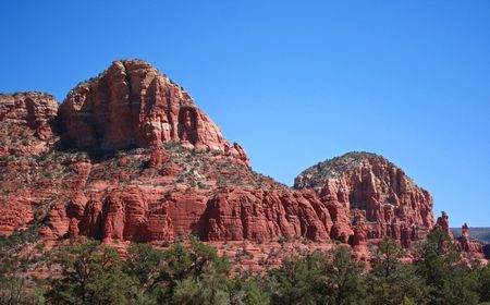 sedona: Sedona, Arizona Stock Photo