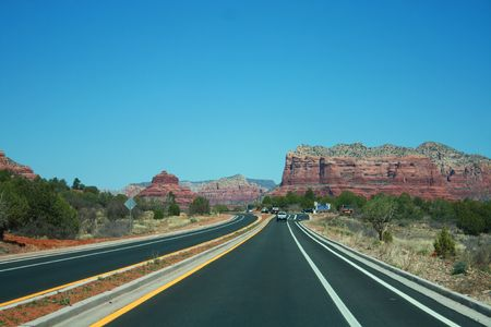Sedona, Arizona Highway photo