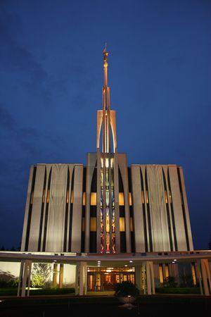 末日聖徒イエス ・ キリスト教会のシアトル ワシントン州の寺院