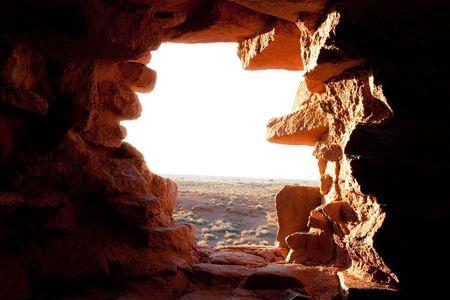 Wutpoki Indian ruins near Flagstaff, Arizona