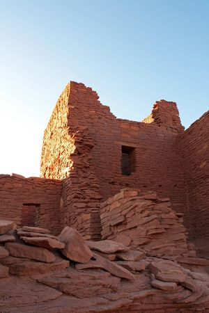 Wutpoki Indian ruins near Flagstaff, Arizona