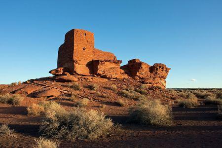 flagstaff: Wutpoki Indian ruins near Flagstaff, Arizona