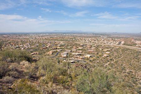 Overlooking Mesa/Phoenix Arizona