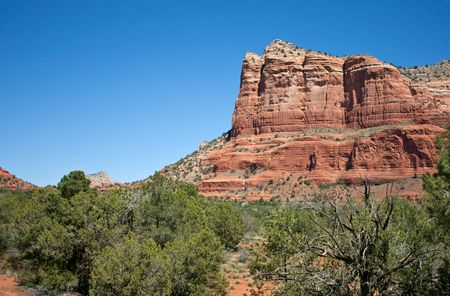 View of beautiful Sedona landscape