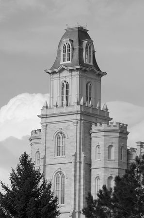 Manti Temple of The Church of Jesus Christ of Latter-day Saints, dedicated in 1888 by Lorenzo Snow