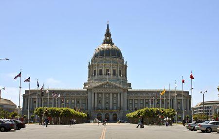 San Francisco, California capitol building on a sunny day