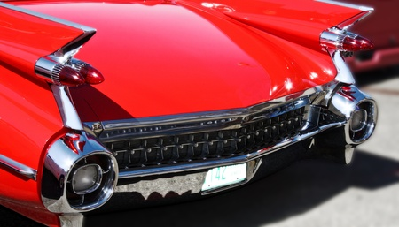 Classic 50s Car Stock Photo