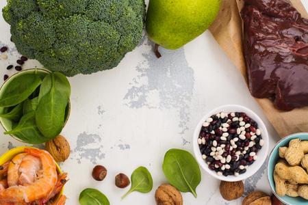 Food rich of vitamin B9