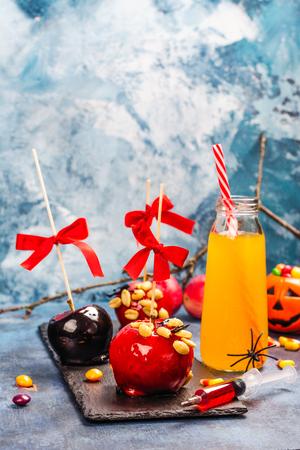 Halloween candy bar Stock Photo