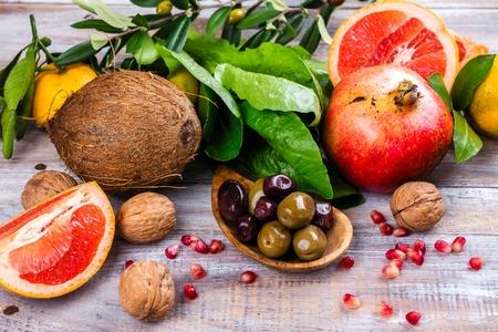 Foods protecting skin