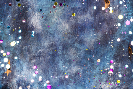 Carnival background with confetti Stock Photo